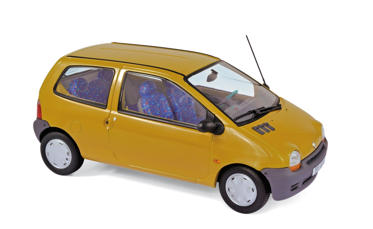twingo indian yellow 1993 norev 1 18