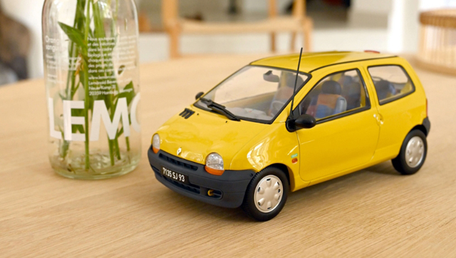 twingo norev lemon yellow united deco 185297