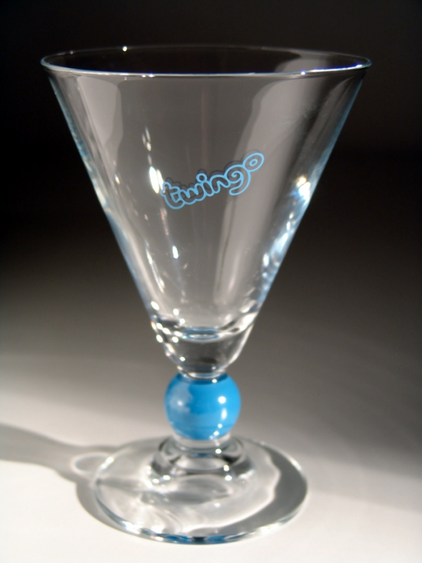 cocktailglas blau